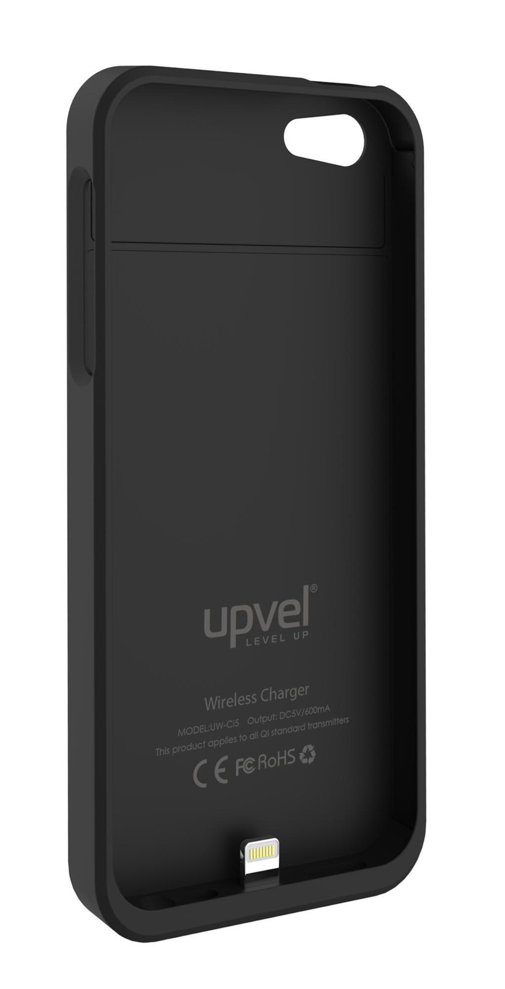 UPVEL UQ-Ci5 Stingray для iPhone 5/5s, Black чехол-приемник для беспроводной зарядки стандарта Qi
