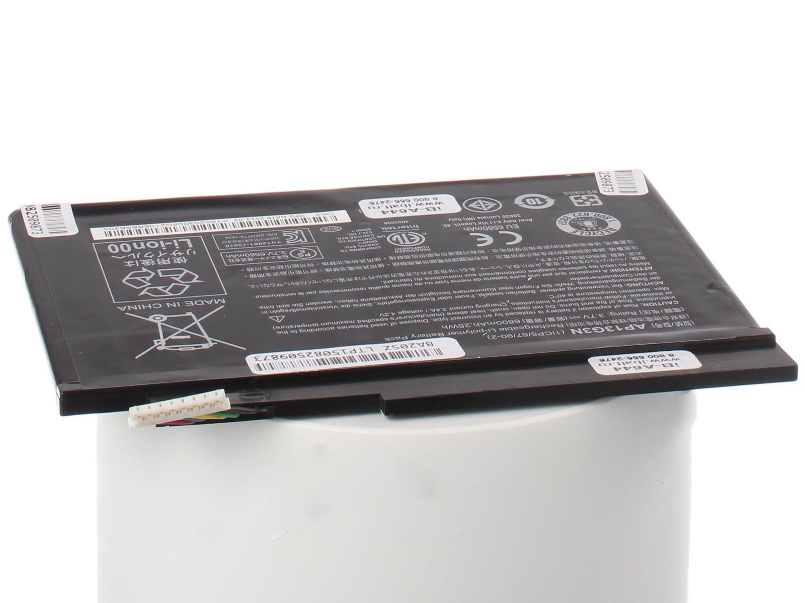 Аккумуляторная батарея iBatt iB-A1-A644 6800mAh для ноутбуков Acer тесты ноутбуков