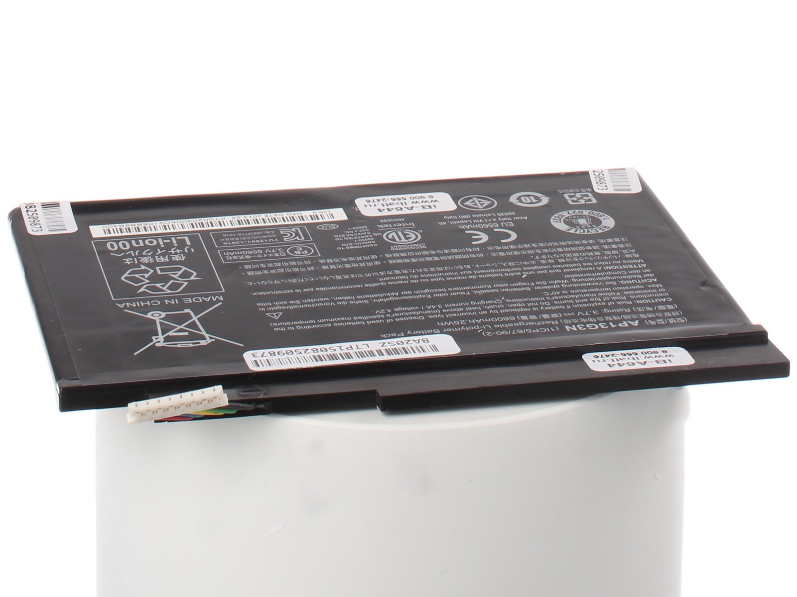 Аккумуляторная батарея iBatt iB-A1-A644 6800mAh для ноутбуков Acer новинки ноутбуков