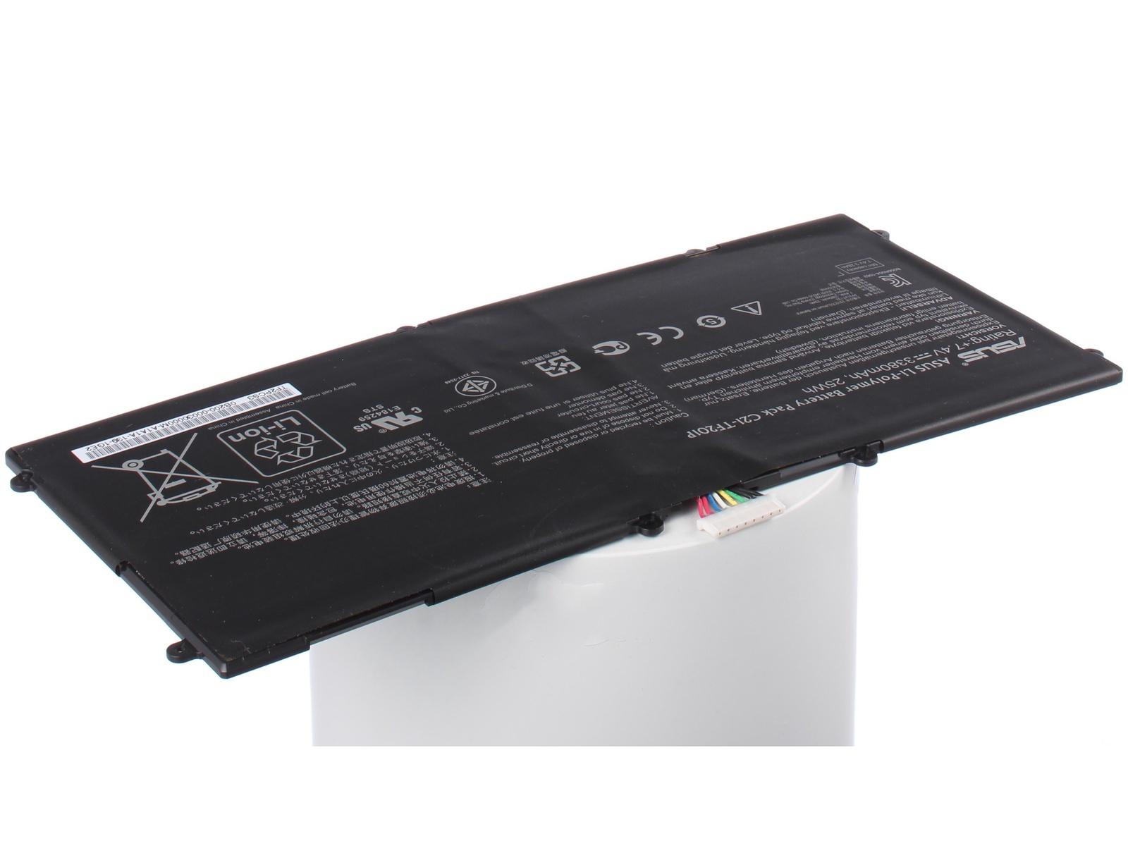 Аккумуляторная батарея iBatt iB-A1-A658 3380mAh для ноутбуков Asus тесты ноутбуков