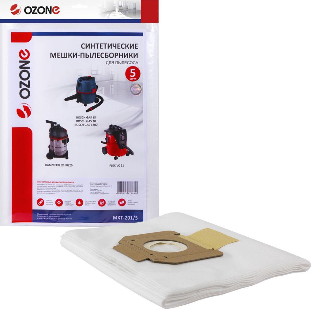 Ozone MXT-201/5 пылесборник для профессиональных пылесосов 5 шт