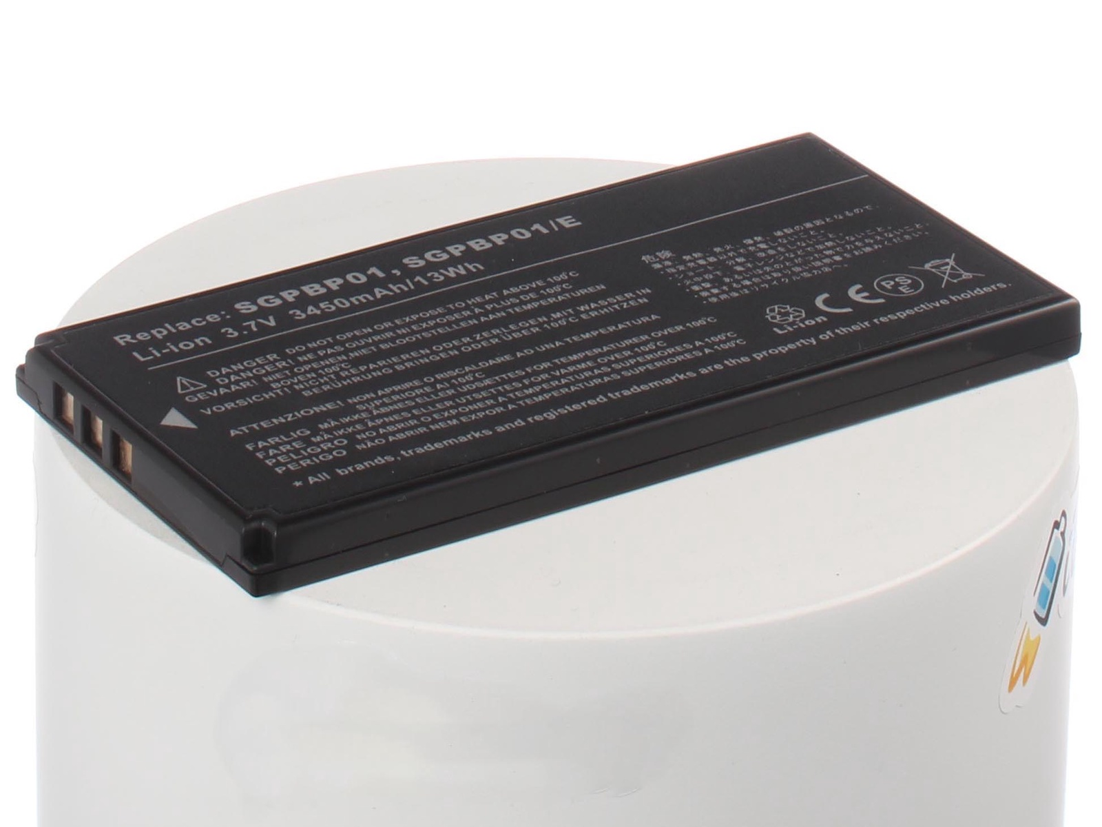 Аккумуляторная батарея iBatt iB-A1-A862 3080mAh для ноутбуков Sony тесты ноутбуков