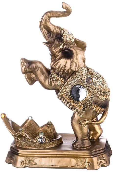 Подставка под бутылку Lefard Слон, 146-752, 38 х 27 х 15 см lefard фигурка веселый слон 7х14х17 см