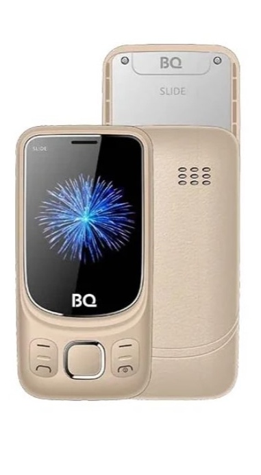 Мобильный телефон BQM-2435 Slide Gold стоимость