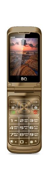 Мобильный телефон BQM-2807 Wonder Brown сотовый телефон bq bq 2807 wonder black