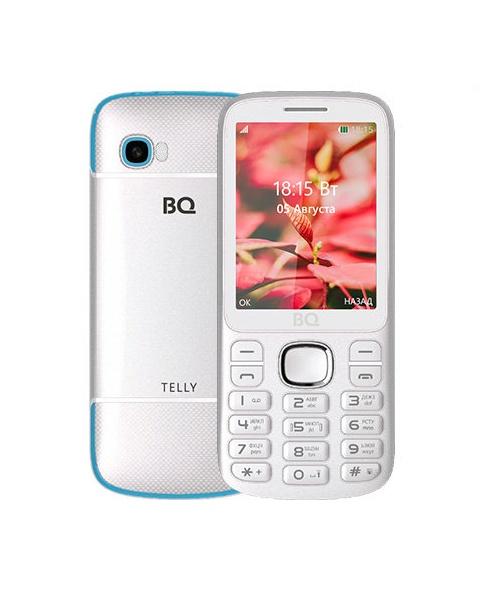 Мобильный телефон BQM-2808 Telly White+blue мобильный телефон bq bq 2808 telly black grey