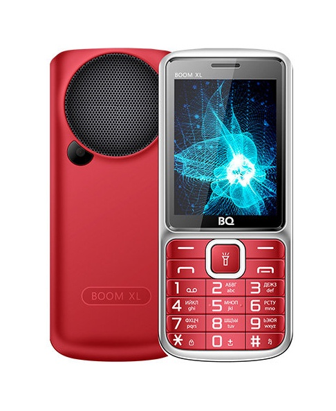 Мобильный телефон BQM-2810 Boom XL Red мобильный телефон bq 2429 touch черный 2 4 32 мб bluetooth