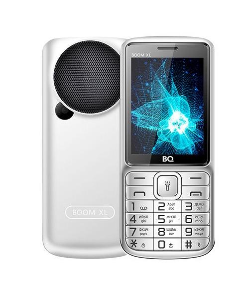 Мобильный телефон BQM-2810 BOOM XL Silver мобильный телефон bq 2429 touch черный 2 4 32 мб bluetooth