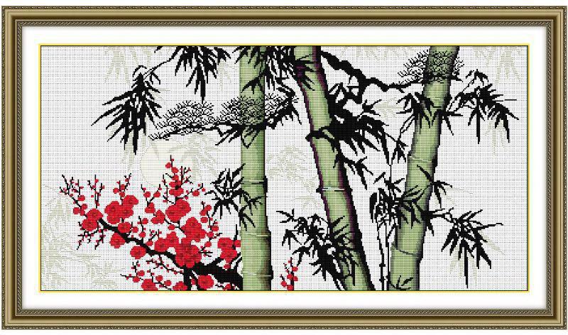 "Набор для вышивания NKF ""Bamboo-1"""