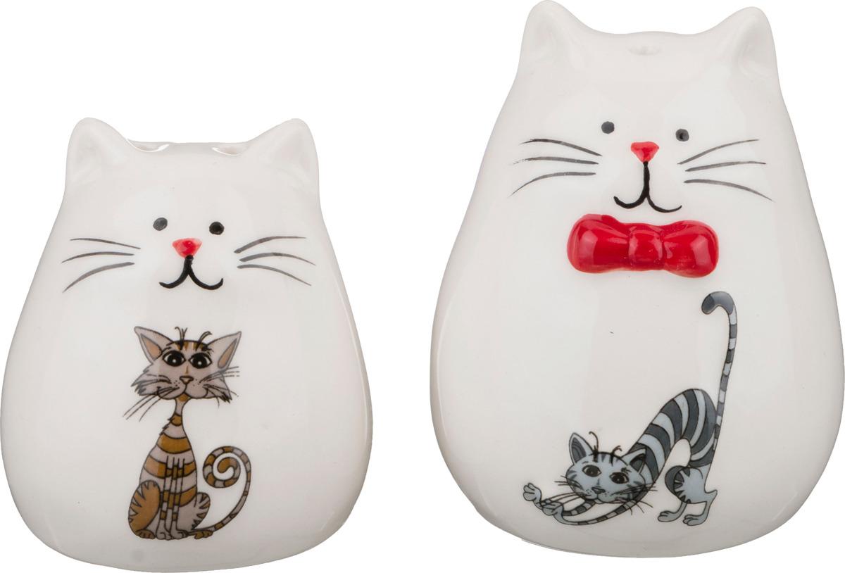 Набор для специй Lefard Озорные коты, 188-112, 2 предмета цена