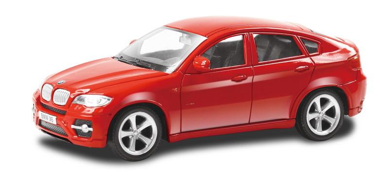 Машинка Uni-Fortune RMZ City BMW X6, без механизмов, 444002-RD, красный, 12,5 x 5,6 x 5,9 см машинка uni fortune rmz city ford mustang 2015 без механизмов 344028sm b желтый