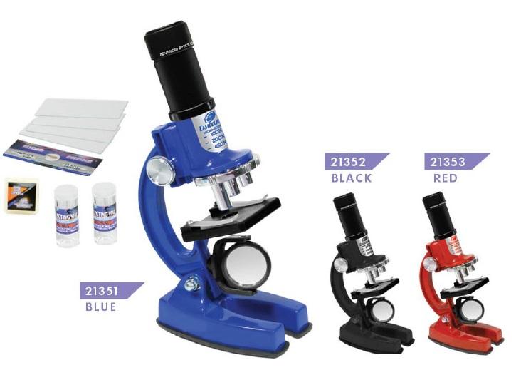 лучшая цена Развивающая игрушка Eastcolight Опыты с микроскопом, 21353, красный, 23 предмета