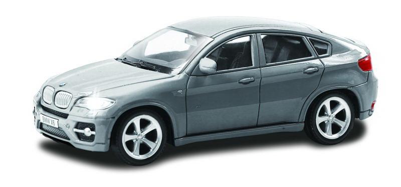 Машинка Uni-Fortune RMZ City BMW X6, без механизмов, 444002-GR, серый, 12,5 x 5,6 x 5,9 см машинка uni fortune rmz city ford mustang 2015 без механизмов 344028sm b желтый