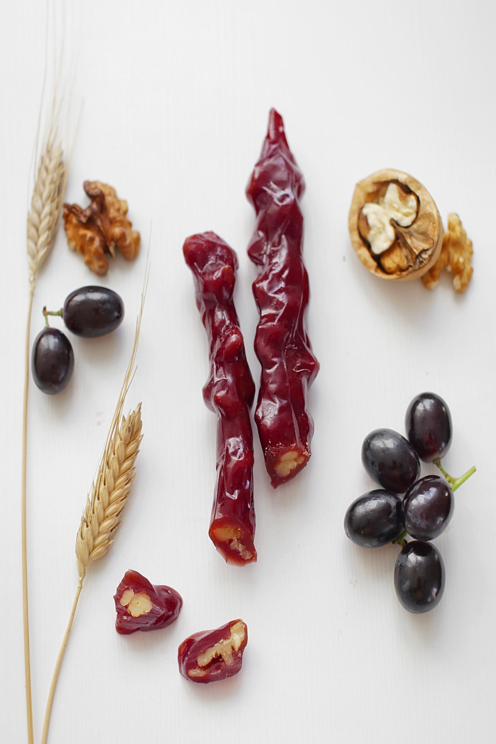 Фото - Чуч-хела виноградная темная с грецким орехом Ремесло вкуса чуч хела виноградная темная с грецким орехом ремесло вкуса