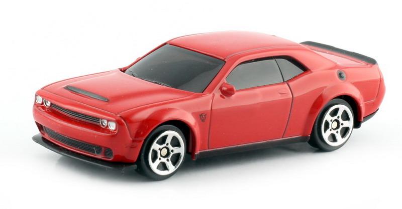 Машинка Uni-Fortune RMZ City Dodge Challenger SRT Demon 2018, 344034S-RD, красный машинка uni fortune rmz city dodge challenger srt demon 2018 344034s rd красный