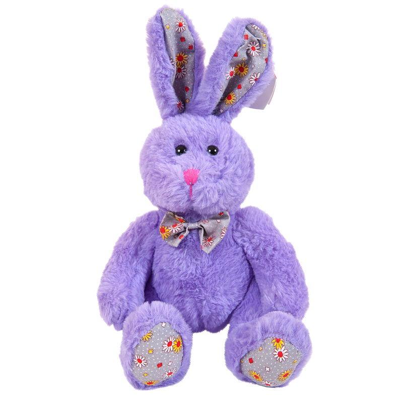 цена Мягкая игрушка Abtoys Кролик, M2067, мультиколор, 18 см онлайн в 2017 году