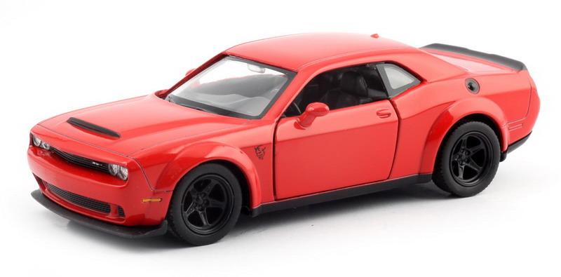 Машинка Uni-Fortune RMZ City Dodge Challenger SRT Demon 2018, 554040-RD, красный машинка uni fortune rmz city dodge challenger srt demon 2018 344034s rd красный