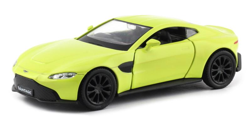 Машинка Uni-Fortune RMZ City Aston Martin Vantage 2018, 554044-YL, желтый