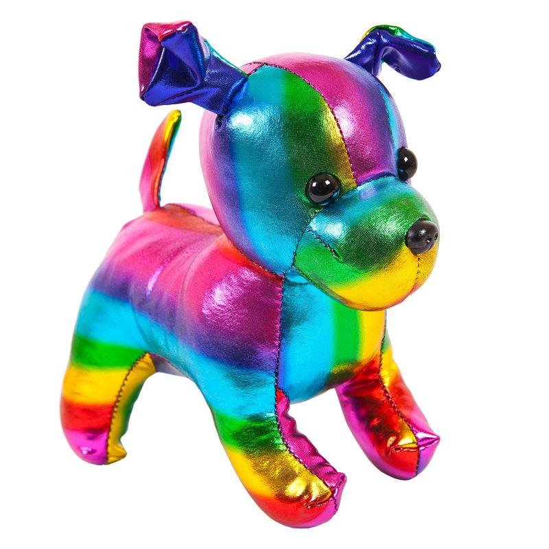 Мягкая игрушка Abtoys Металлик Собака, M2057, мультиколор, 15 см