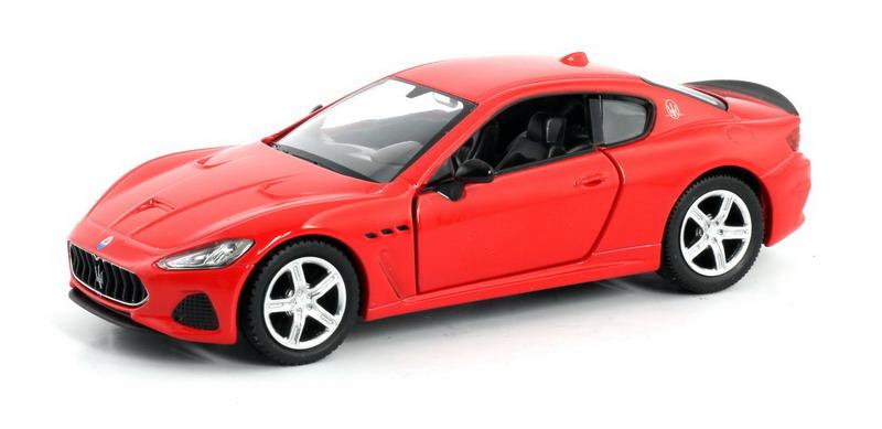 Машинка Uni-Fortune RMZ City Maserati GranTurismo MC 2018, 554989-RD, красный машинка uni fortune rmz city dodge challenger srt demon 2018 344034s rd красный