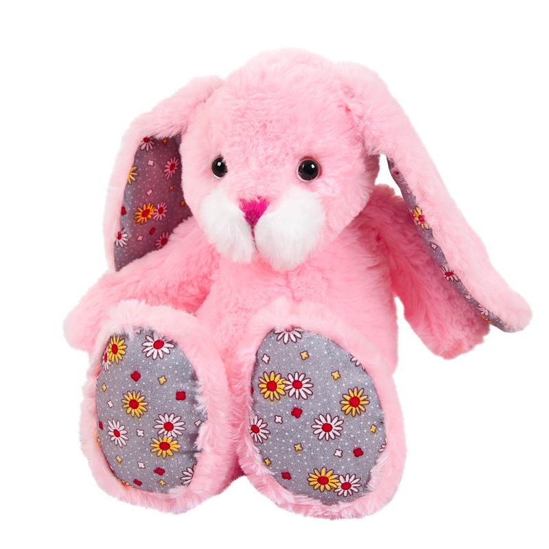 цена Мягкая игрушка Abtoys Кролик, M2063, мультиколор, 20 см онлайн в 2017 году
