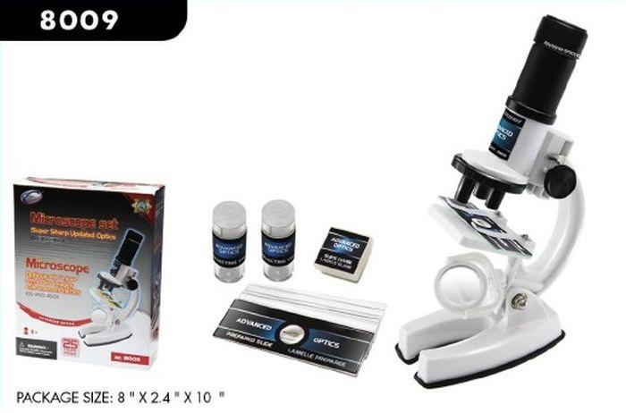 лучшая цена Развивающая игрушка Eastcolight Опыты с микроскопом и аксессуарами, 8009, белый, 25 предметов