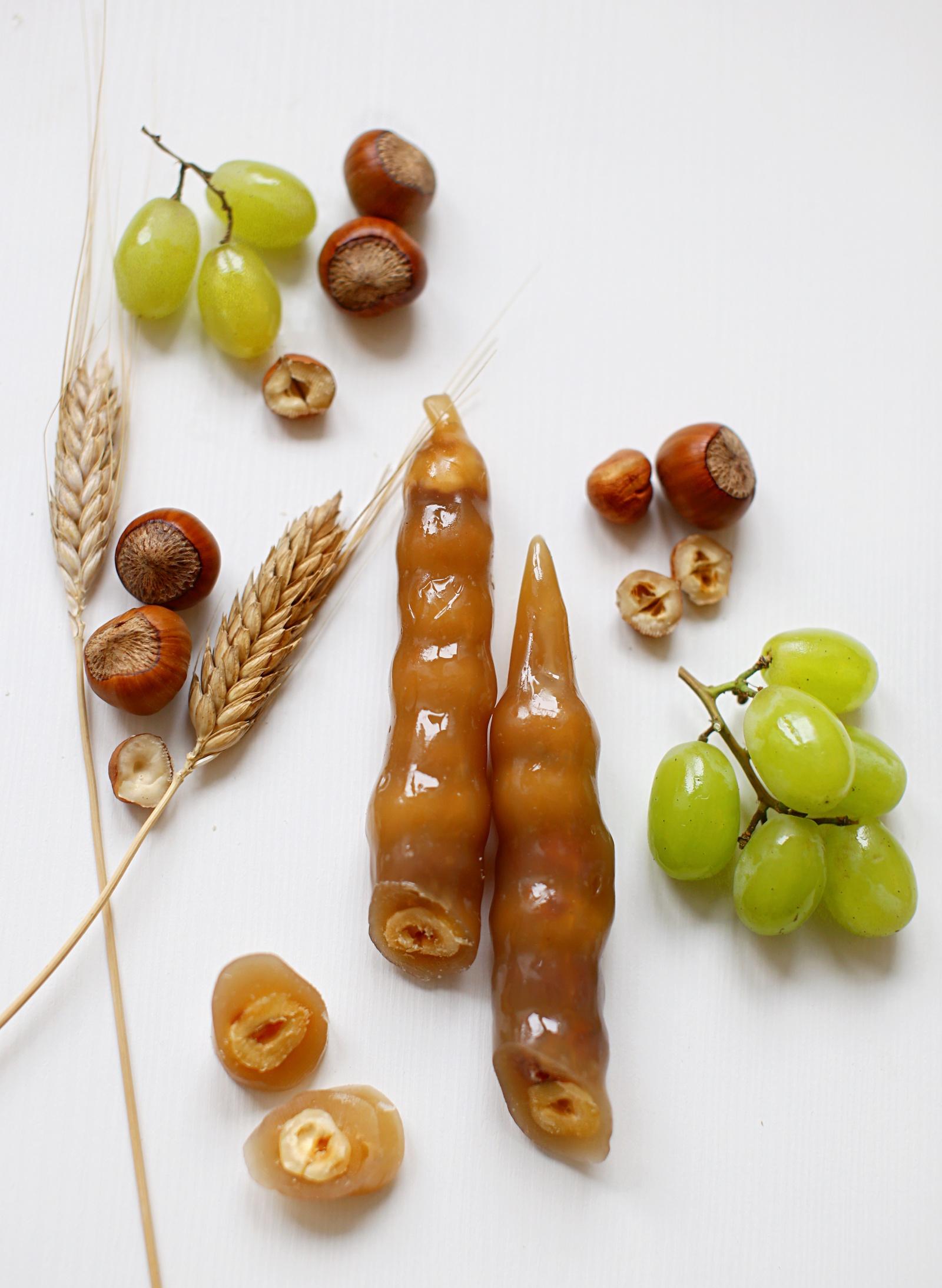 Фото - Чуч-хела виноградная светлая с фундуком Ремесло вкуса чуч хела виноградная темная с грецким орехом ремесло вкуса