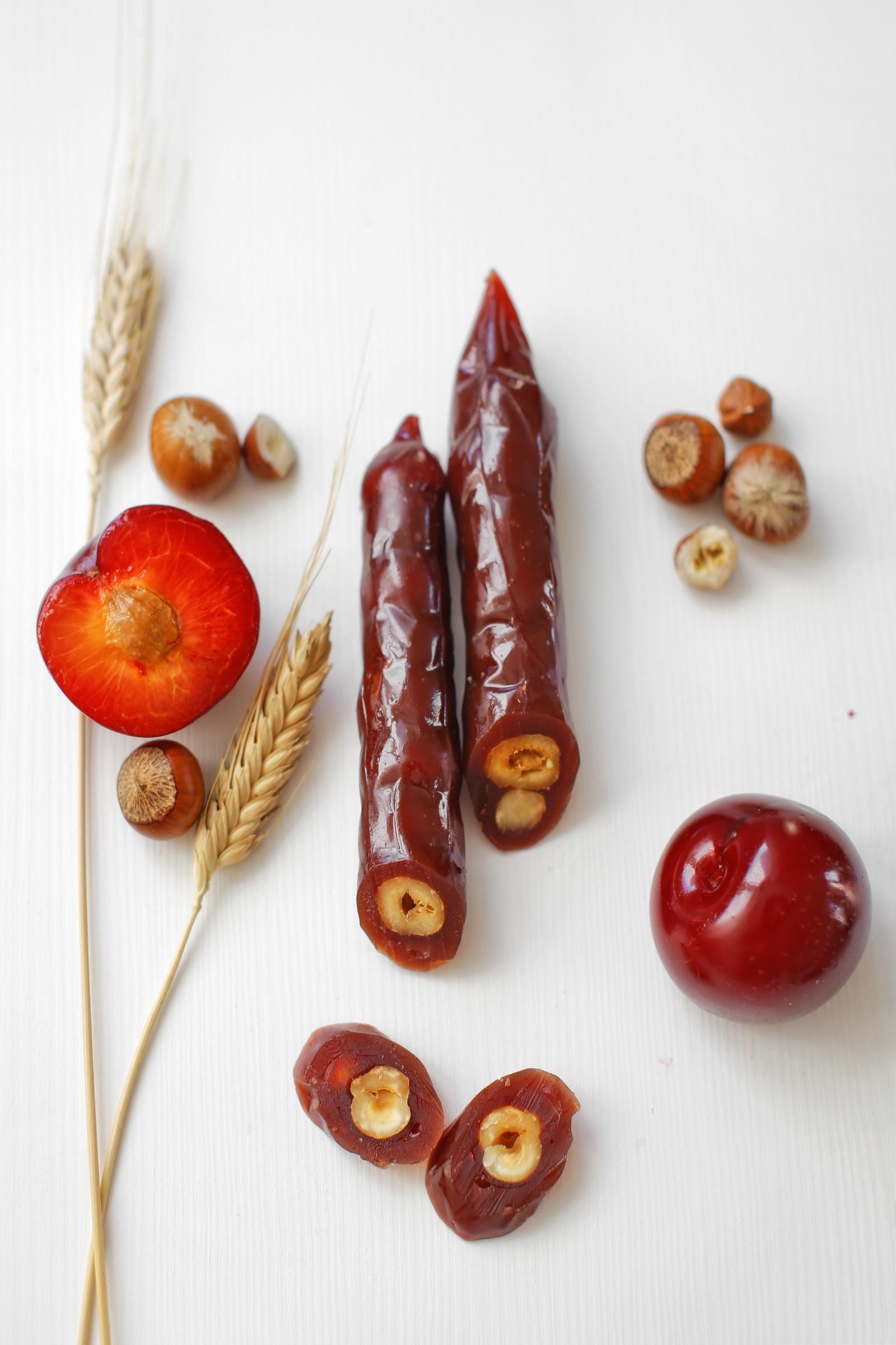 Фото - Чуч-хела сливовая с фундуком Ремесло вкуса чуч хела виноградная темная с грецким орехом ремесло вкуса