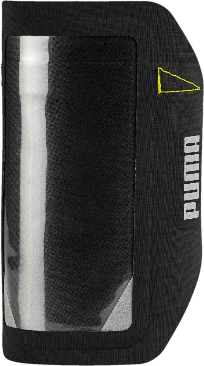 Чехол для сотового телефона на руку Puma PR Sport Phone Armband, 05351308, черный, размер S/M цена