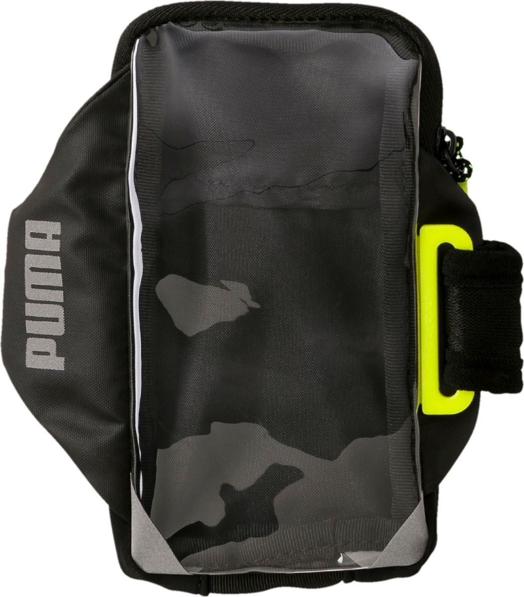 Чехол для сотового телефона на руку Puma PR Mobile Armband, 05351208, черный, размер S/M цена
