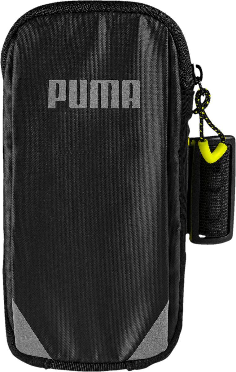 Чехол для сотового телефона на руку Puma PR Arm Pocket, 05351107, черный цена