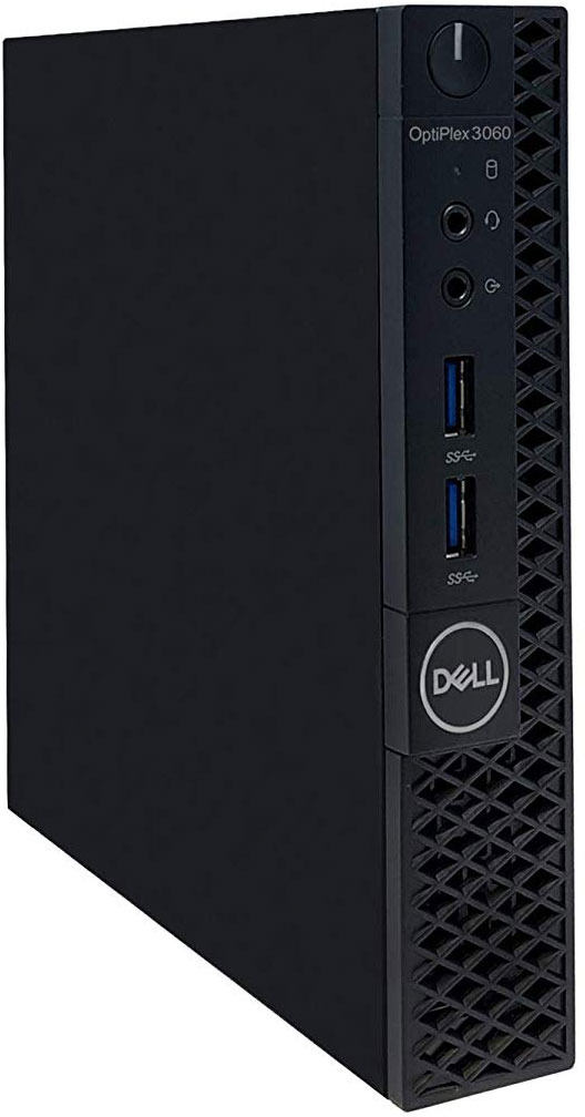 Системный блок Dell Optiplex 3060 Micro, 3060-7595, черный системный блок dell optiplex 7050 micro 7050 8343 черный