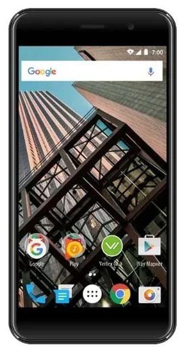 Смартфон Vertex Impress Bear 4G 1/8GB, темно-серый цена и фото
