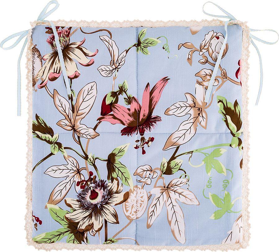 цена на Сидушка на стул Santalino Орхидея, 850-847-52, разноцветный, 40 x 40 см