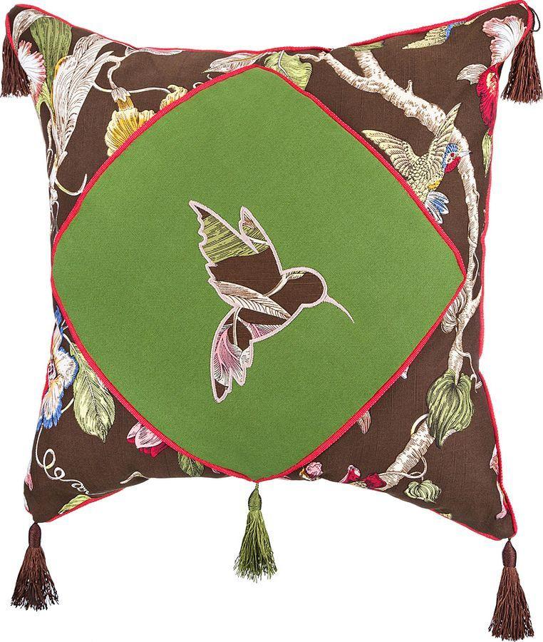 Подушка декоративная Santalino Парадиз, 850-824-6, разноцветный, 45 x 45 см подушка декоративная рапира сладкого настроения 45 х 45 см
