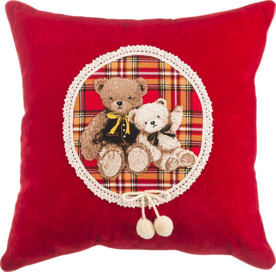 Подушка декоративная Santalino Мишка, 850-825-62, разноцветный, 43 x 43 см 50 43