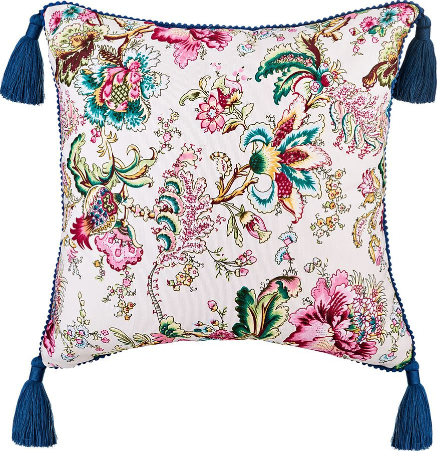Подушка декоративная Santalino Райский сад, 850-832-62, разноцветный, 45 x 45 см цена