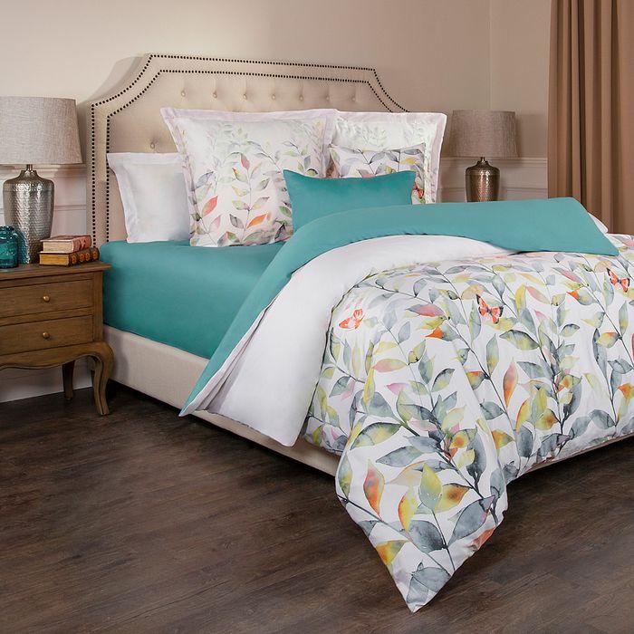 Комплект постельного белья Santalino Гармоника, евро, наволочки 70 х см, 985-269, разноцветный