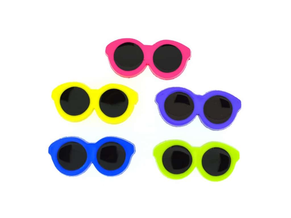 Пуговицы Jesse James - Button fun small sunglasses