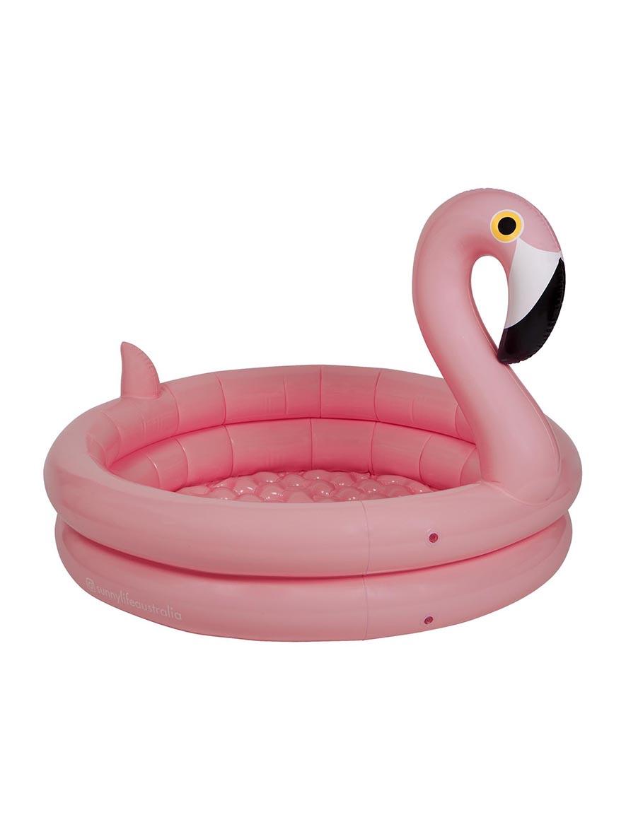 "Матрас надувной ""Розовый фламинго"" 100 x 155 см"