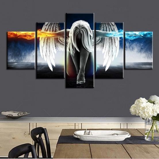 Модульная картина (ангел)