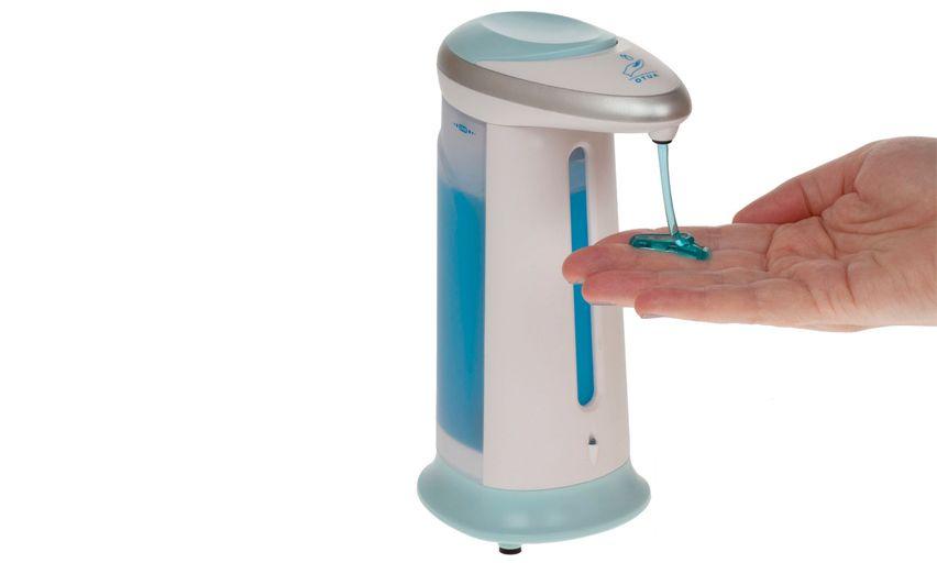Мыльница сенсорная - дозатор для мыла Soap Magic