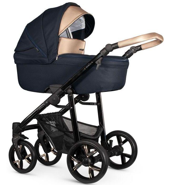 Детская коляска 2 в 1 Venicci Lanco Navy Blue