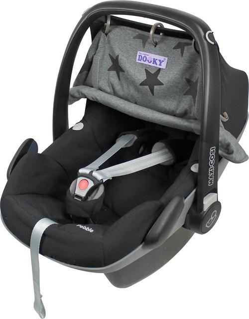 Xplorys Защитная накидка на коляску и автокресло DOOKY Design цв.Grey Stars
