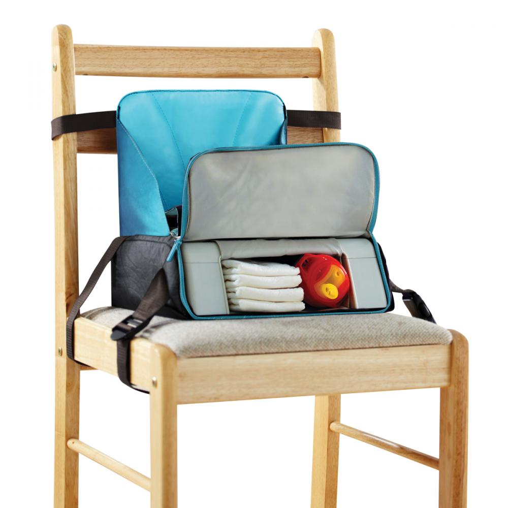 Munchkin стульчик-сумка для путешествий 2 в 1 от 12 до 36 мес.