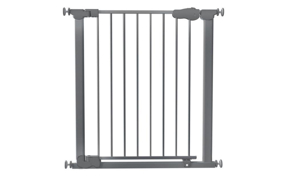 Safe&Care ворота металл 73-80,5 см черные