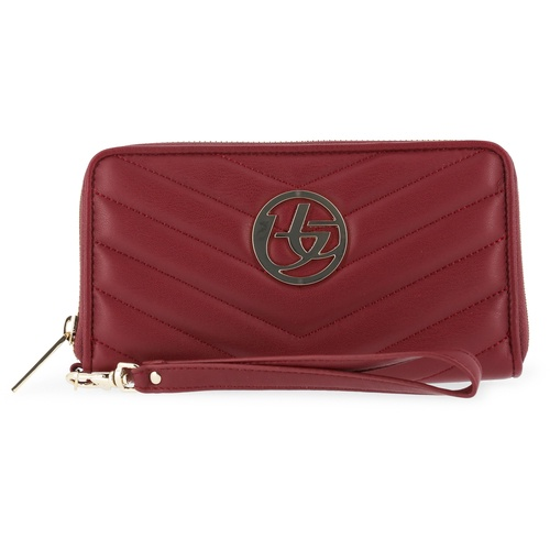 Кошелек Blu Byblos best men wallets genuine leather men purse long designer with coin coin pocket clutch wallet zip purse phone credit card holder