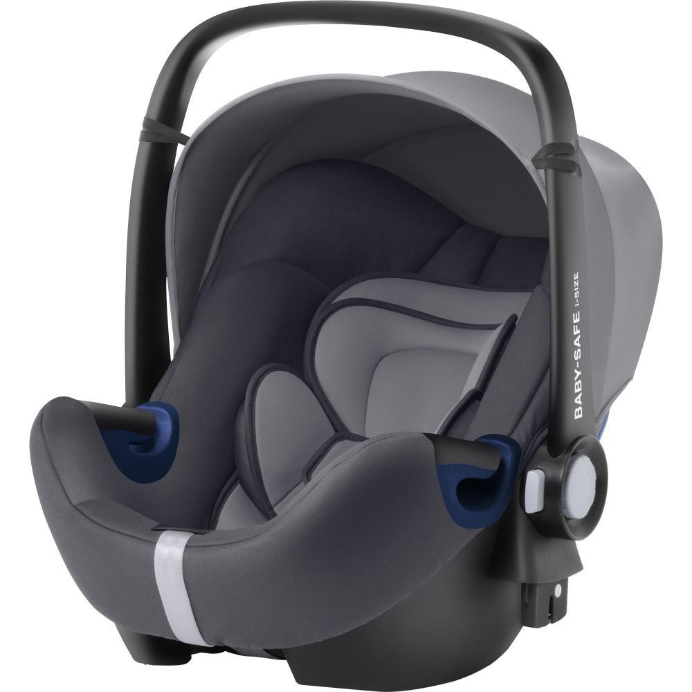 Britax Roemer автокресло Baby-Safe2 i-size Storm Grey Trendline детское автокресло baby safe2 i size coral peach trendline