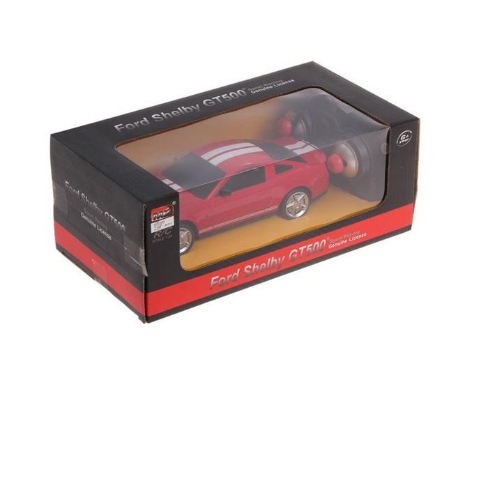 "Машина радиоуправляемая ""Ford Shelby Mustang"", масштаб 1:24, работает от батареек, свет"