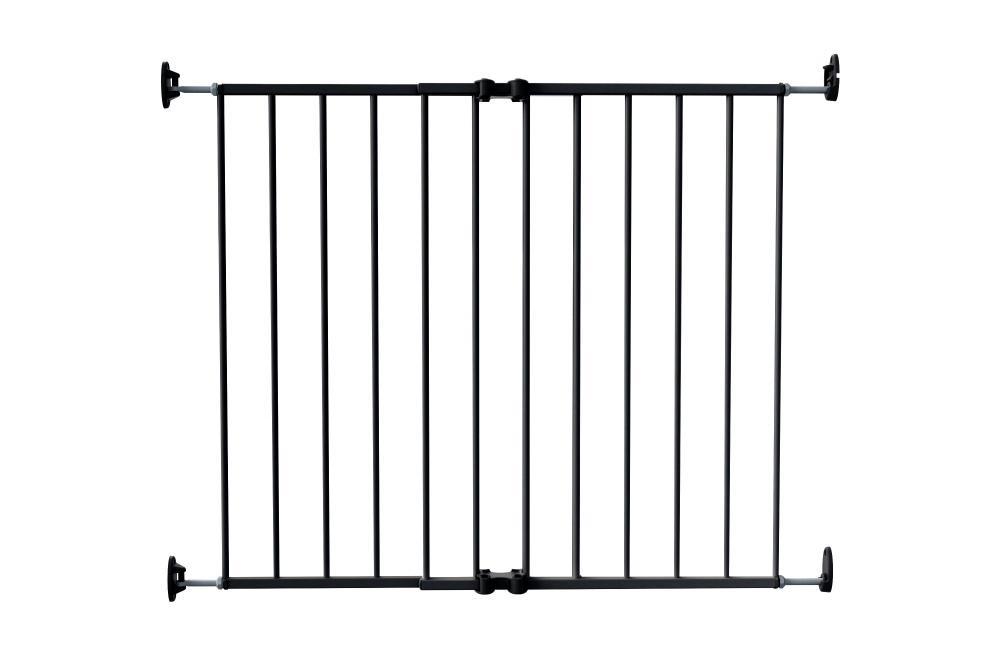 Safe&Care ворота металл 64-99,5 см черные